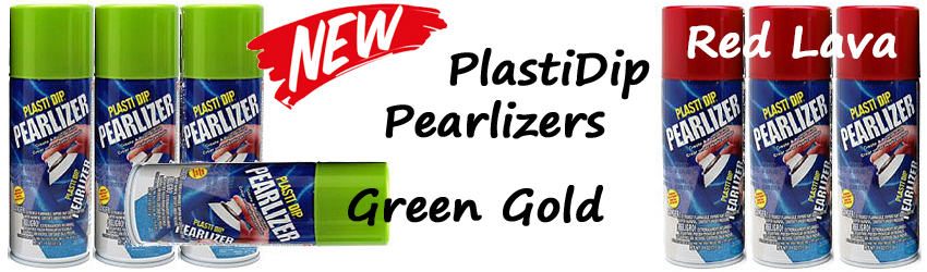New PlastiDip Pearlizer Colors